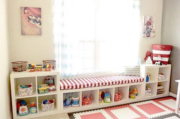 les 25 meilleures id es de la cat gorie rangement jouet enfant sur pinterest rangement jouet. Black Bedroom Furniture Sets. Home Design Ideas