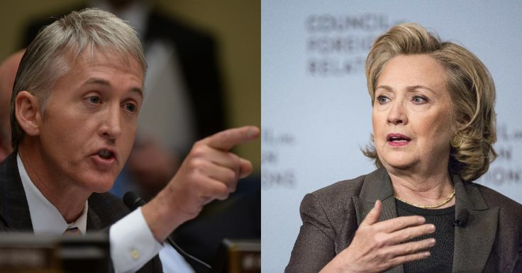 URGENT: Trey Gowdy Just Sealed Hillary's Fate With the Move We've Been Waiting For