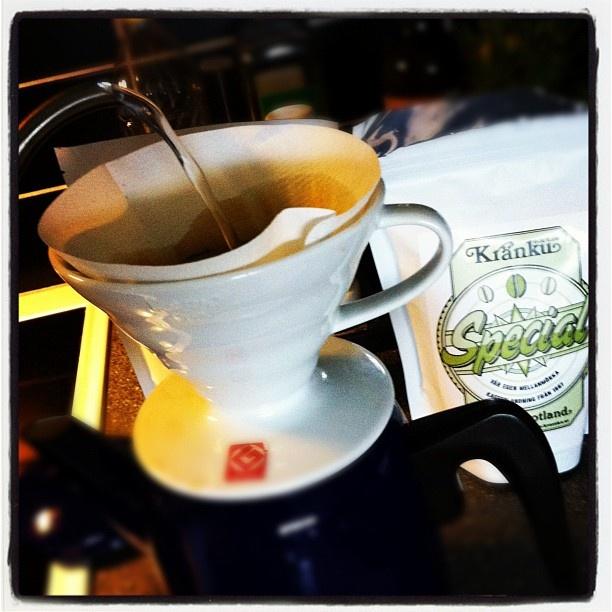 Testar Special från @kraenku som morgonkaffe.