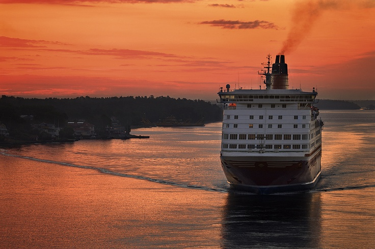 Viking Line ferry between Sweden and Finland