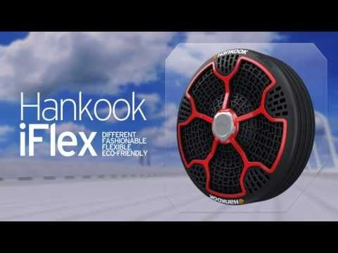 Hankook iFlex Airless Tires are Puncture Proof, Made from 95% Recyclable Materials - TechEBlog