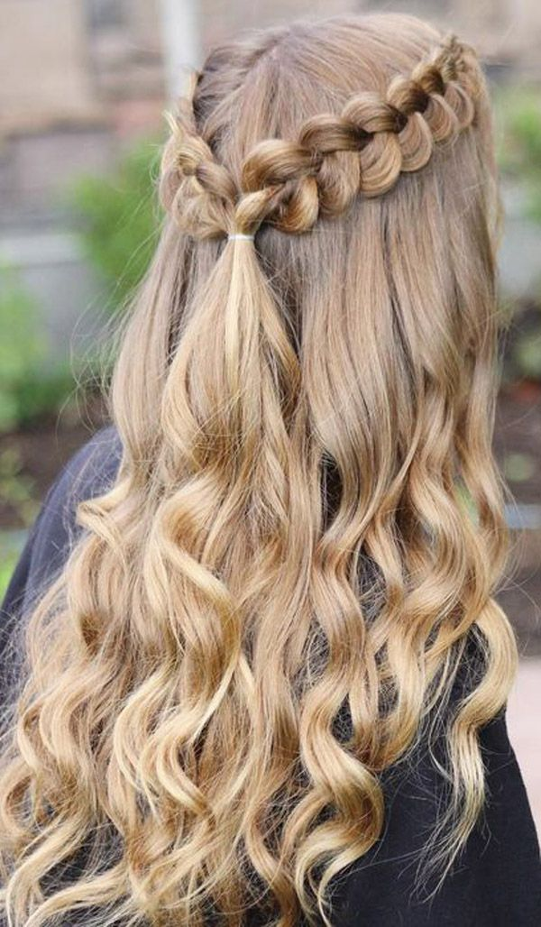 Best Homecoming Hairstyles Evesteps Prom Hairstyles For Long Hair Simple Prom Hair Hair Styles
