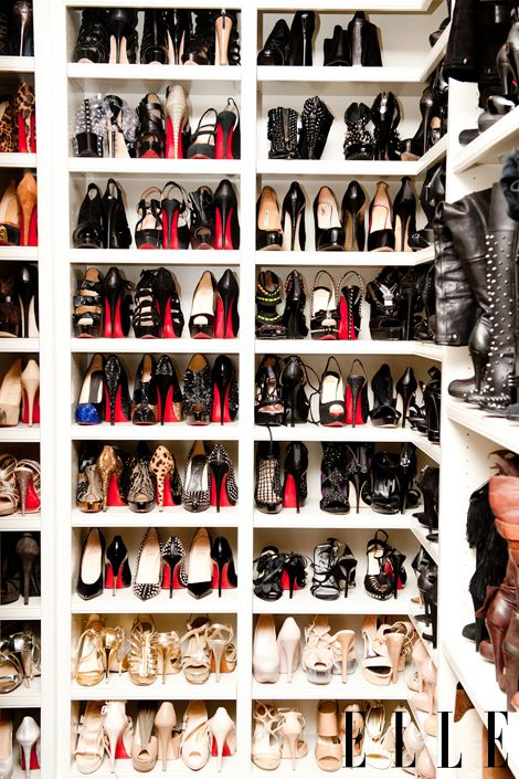 Louboutins every women's dreams.