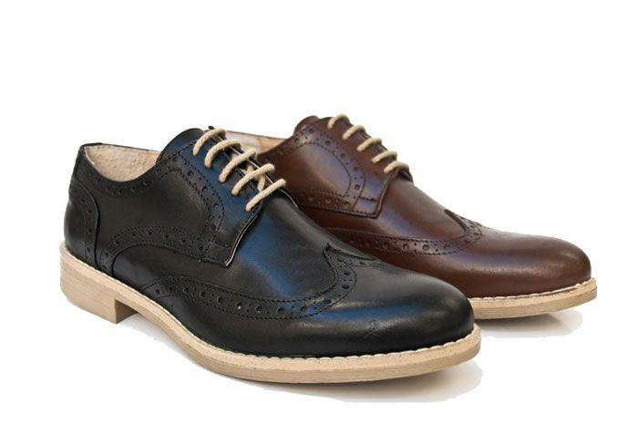 Questa scarpa brogue di Yellowside ha uno stile classico ma fresco al tempo stesso. Completa il tuo outfit casual o elegante con questa scarpa brogue! www.calzaveste.it