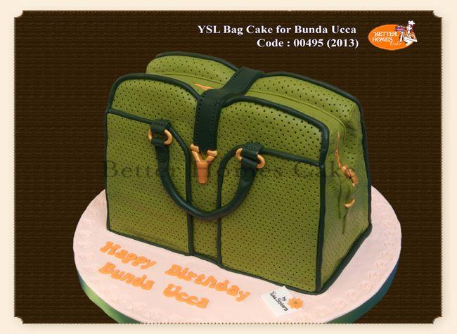 Ysl Birthday Cake