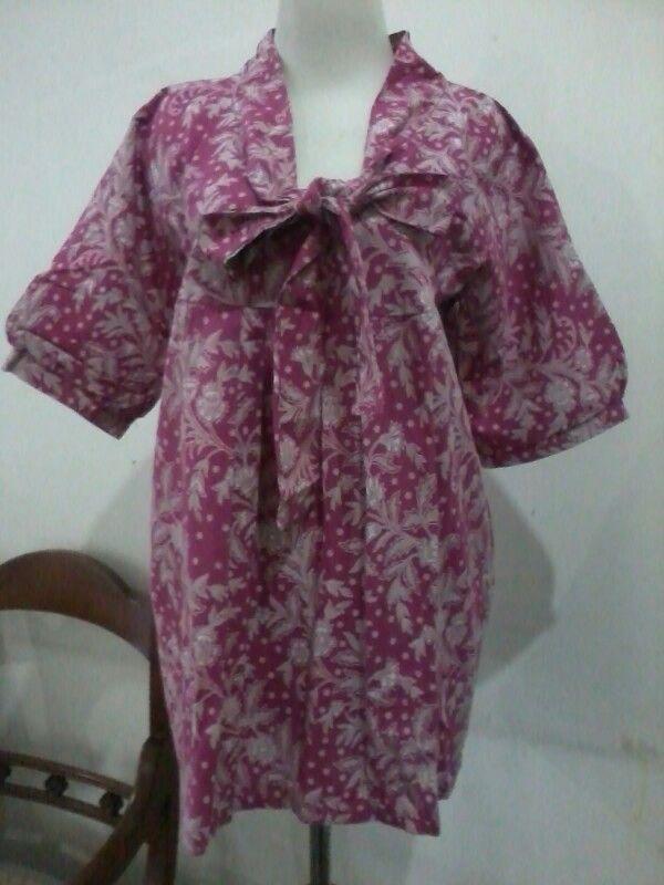 Batik lawasan blouse, size M fit to L, direct wa 08812775835