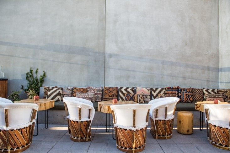 Ace Hotel Los Angeles Outdoor Lounge/Remodelista