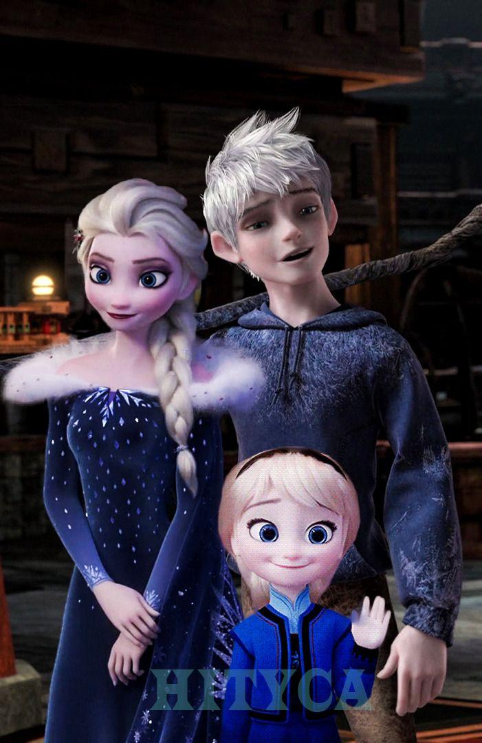 Older Elsa looks bloated Jack looks look he's going to ...
