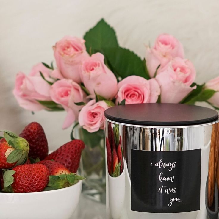 "Our limited edition candle for lovers ""I always knew it was you"""