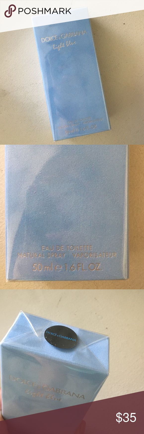 Dolce & Gabbana Light Blue perfume Brand new in wrapper D&G perfume light blue 50ml 1.6fl oz. Dolce & Gabbana Accessories