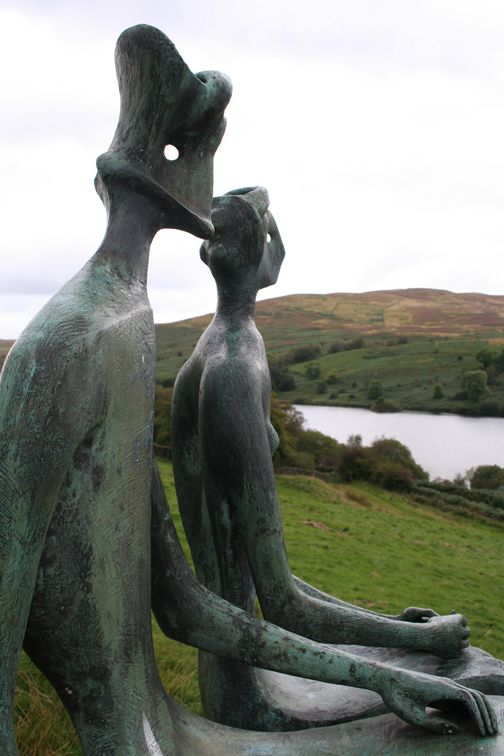 Henry Moore was one of my favorite inspirations while I was a sculpture student -