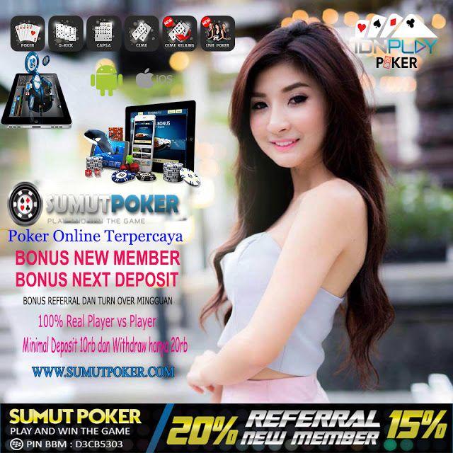 SumutPoker Situs Agen Judi Poker Gampang Menang !!