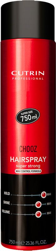 Cutrin Chooz -hiuskiinne 750 ml, 9,90 €. Hiuskiinne Max control. Norm. 19,90 €. Hairlekiini, E-taso.