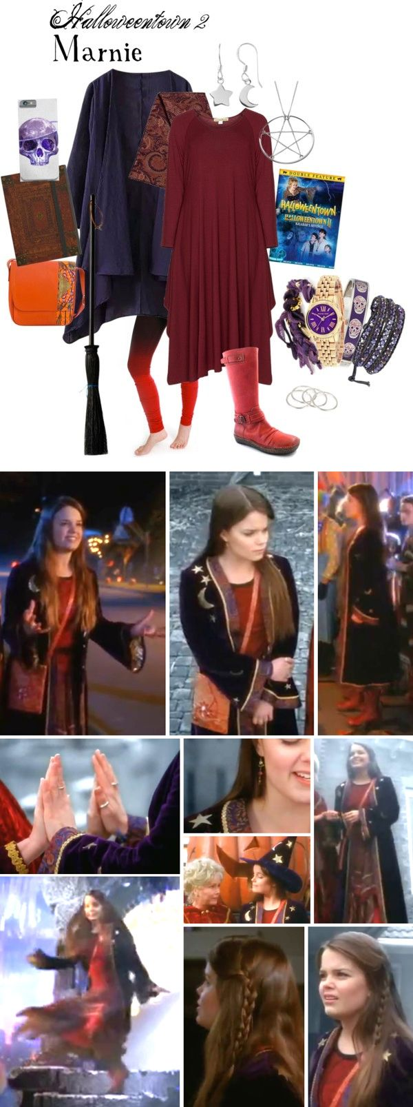 Halloweentown II : Marnie Style An updated style for Marnie Cromwell from…