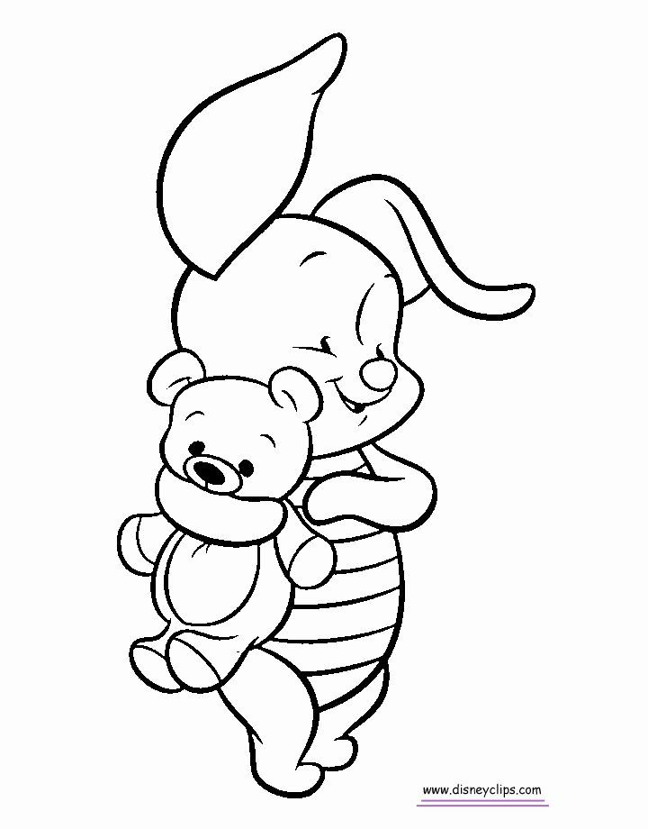 Baby Disney Characters Coloring Pages Martin Chandra Coloring Pages Baby Disney Characters Baby Piglets Disney Coloring Pages