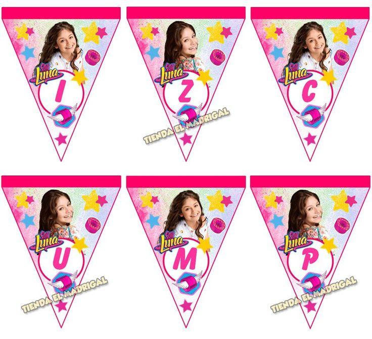 Kit Imprimible Soy Luna Tarjetas Invitaciones + Candy Bar - S/. 18,00