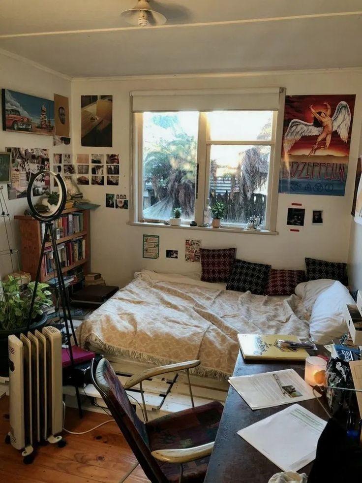 37+ cozy diy apartment decor ideas 00013 | Aesthetic rooms ...