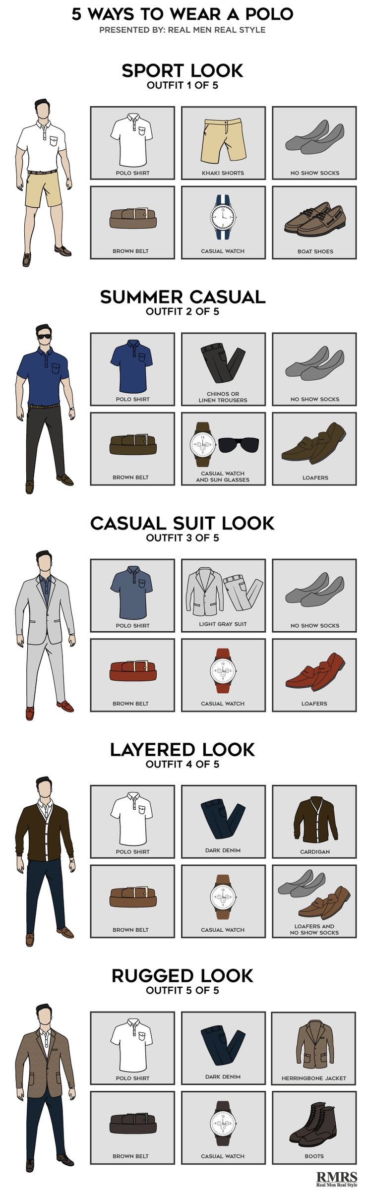 5 Ways To Wear A Polo