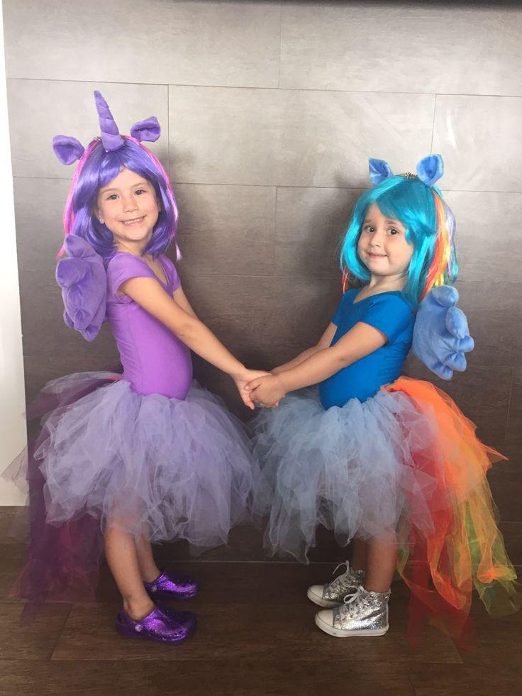 My Little Pony Costume. Twilight Sparkle and Rainbow Dash.
