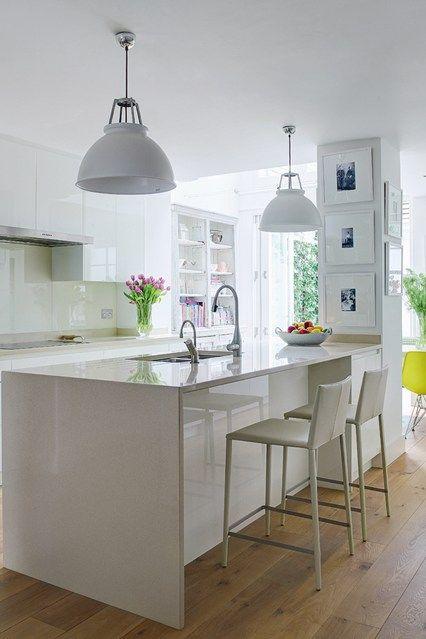 Bright Colour and Pattern White Kitchen - Kitchen Design Ideas (houseandgarden.co.uk)