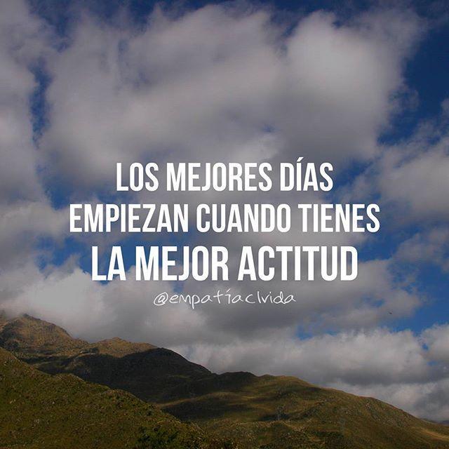 Buena semana para todos   #empatiaclvida  Ph: @franrc_  #empatiaclvida #sueños #objetivos #positivo #fortaleza #frases #voluntad #motivación #felicidad #pensamientos #acción #determinación #actitud #logros #éxito #buenavida #sefeliz #logros #buenlunes #vida #desarrollo #buenasemana
