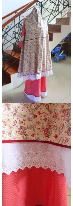 "MUKENA - MKA13. Bahan: Katun Jepang. Ukuran: All Size. ""SOLD OUT!"""