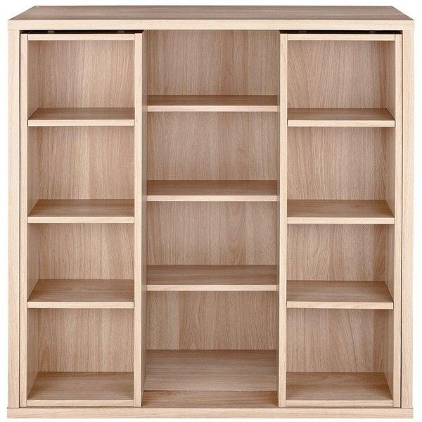 Metro Sliding Dvd/Cd Storage Shelf (115 CAD) ❤ Liked On Polyvore Featuring