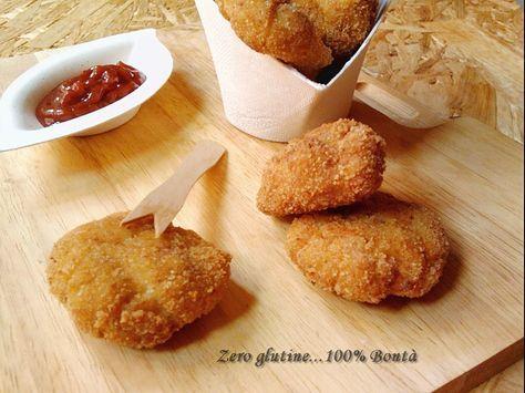 Nuggets di pollo senza glutine