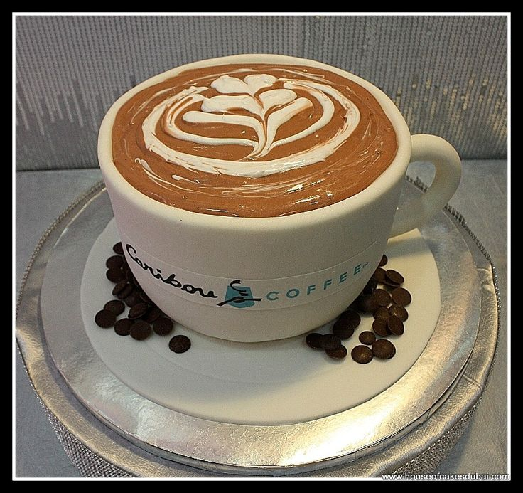 Caribou coffee cup cake 2 coffee cake decoration coffe