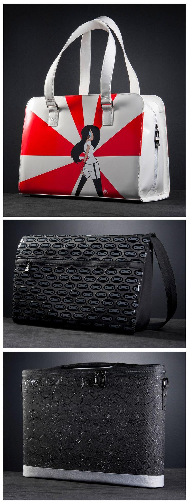 Laptop bags! Art by Esther Sanchez