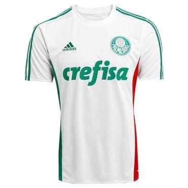 (Decathlon) Camiseta Branca Palmeiras, iíder mesmo a juizada jogando contra. R$99,00 Só G