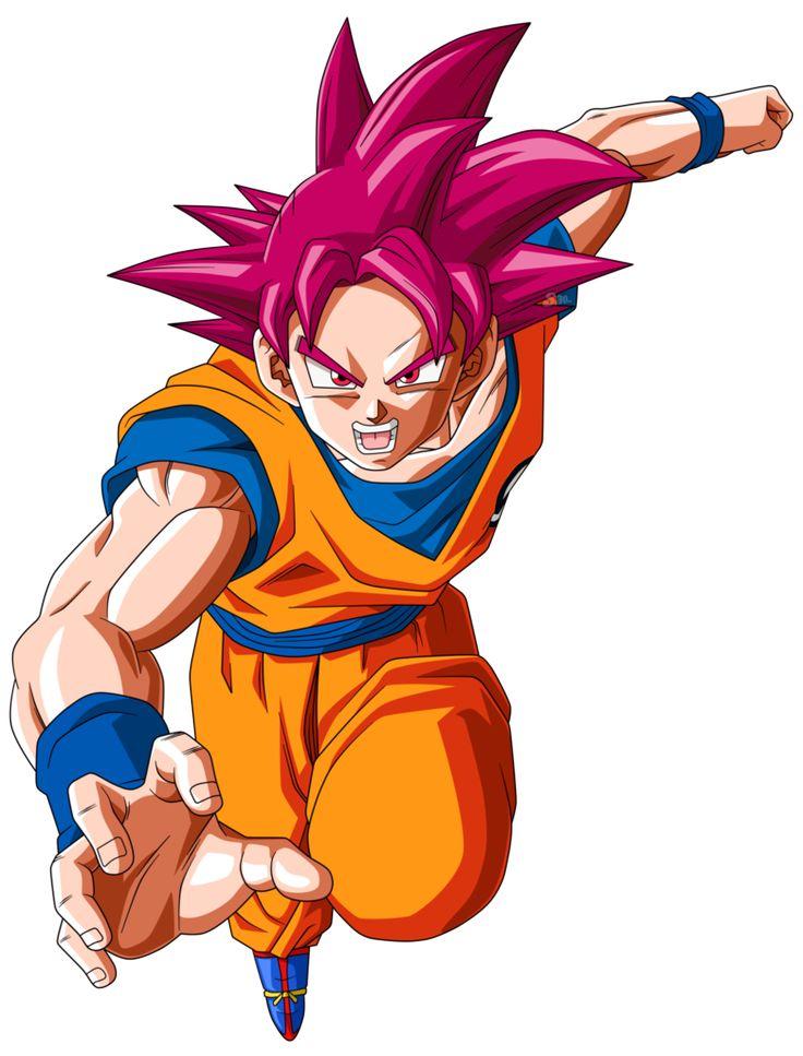 Goku Super Saiyajin Fase Dios by SaoDVD