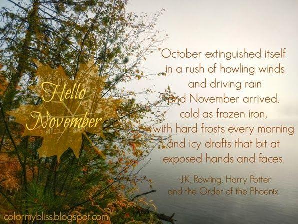 Charming Hello November