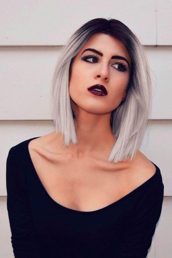 15 Chic Ombre Short Hair Ideas