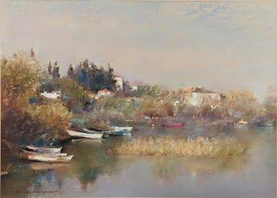 benim köşem: Javad Soleimanpour-pastel boya ile harikalar yaratan ressam-sanatçı