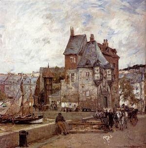 A French Harbour Town  Adrien Gabriel Voisard-Margerie