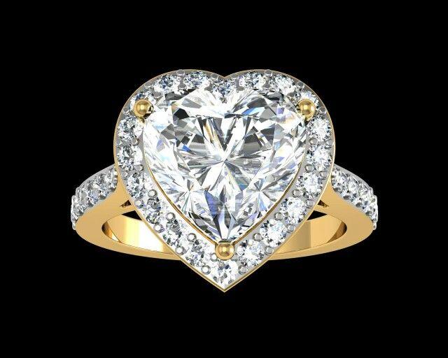 R201500032: Love heart ring