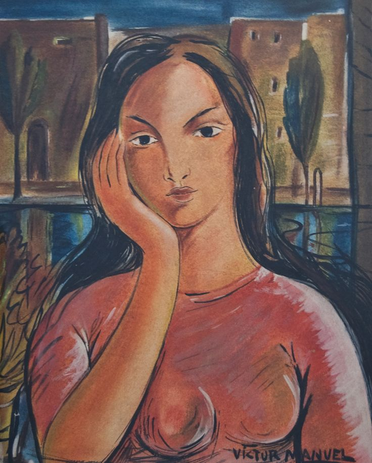 *VICTOR MANUEL GARCIA (1867-1969) - SANS TITRE - Technique mixte sur cartoline - [...], Art Cubain Contemporain à Cornette de Saint Cyr Paris   Auction.fr
