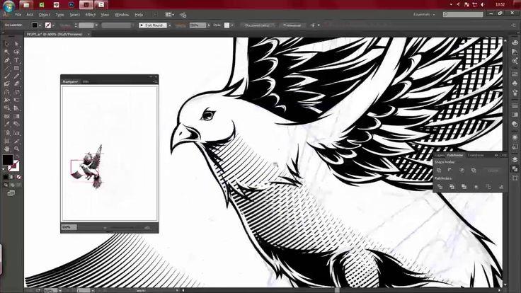 Line Art Adobe Illustrator : How to make badass line art in adobe illustrator