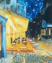 terraza de cafe. Van Gogh