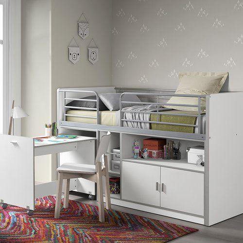 die besten 25 hochbett mit schreibtisch ideen auf pinterest 1 zimmer wohnung einrichtung. Black Bedroom Furniture Sets. Home Design Ideas