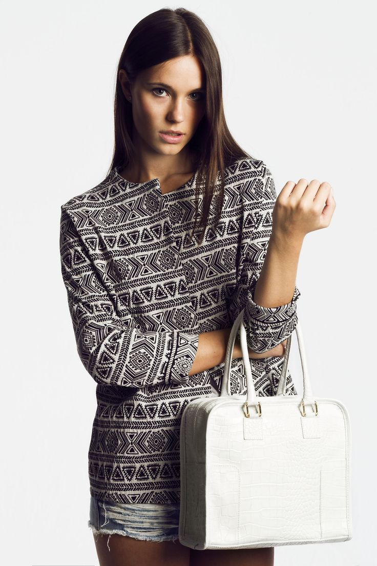 SHOPPER BLANCO BY THE CODE