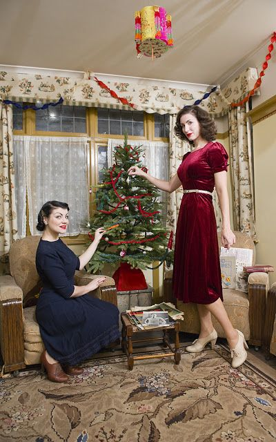 Yesterday Girl Christmas In The 1940s House How We