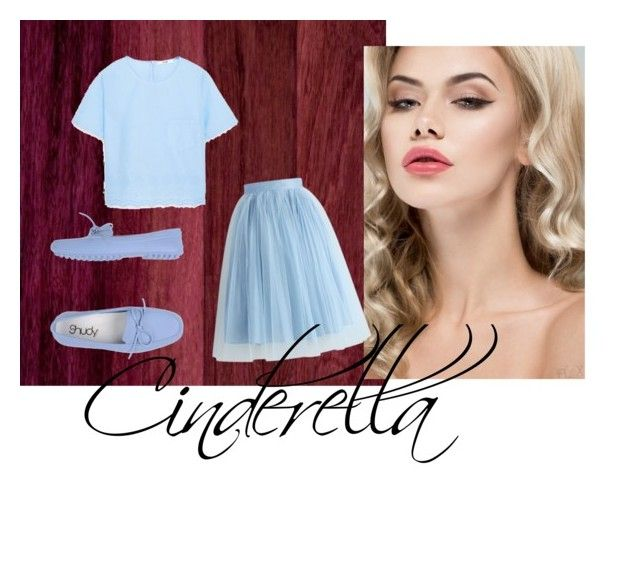"""""""My Cinderella Story"""" by thisismedika on Polyvore featuring MANGO and Chicwish"""