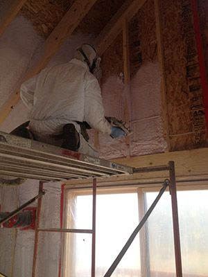 Every nook and crannie gets filled with closed cell foam insulation in this Minneapolis home.   http://www.lewisinsulation.com/insulation-types/closed-cell-spray-foam-insulation/