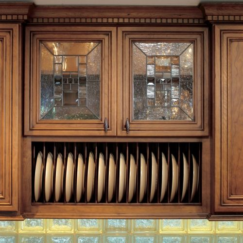 """Omega National Products Plate Display Rack 36"""" Maple NPD-36-MA"""