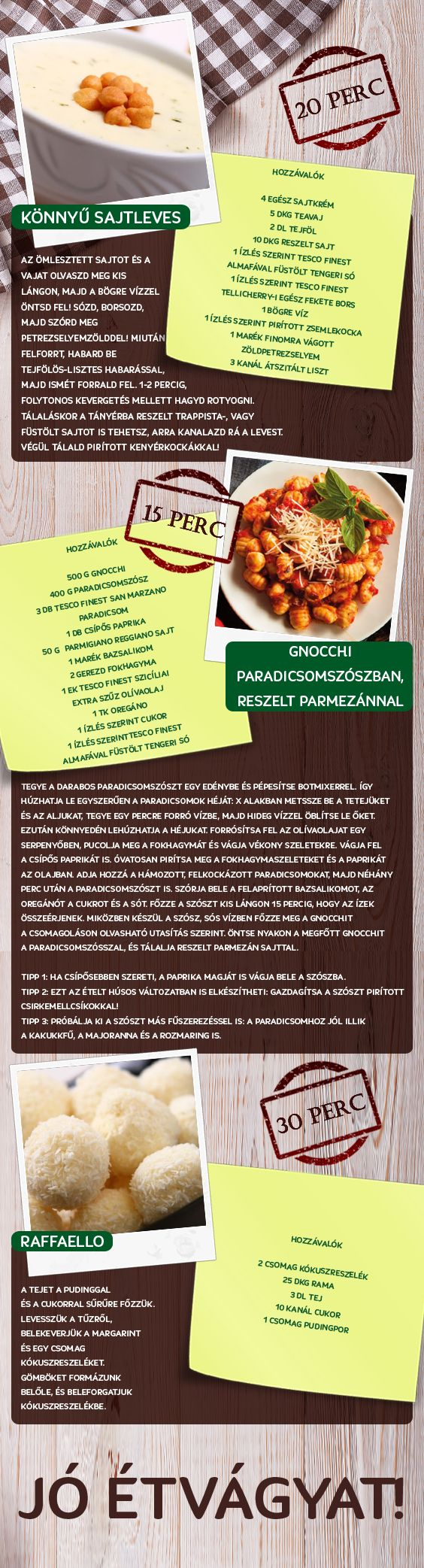 Gyorsan és könnyen elkészíthető receptek! :)