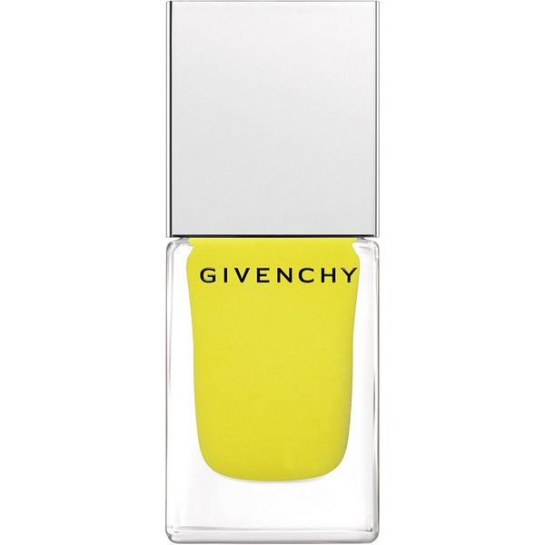 Givenchy Beauty Women's Nail Polish - N24 Jaune Expression found on Polyvore featuring beauty products, nail care, nail polish, beauty, makeup, nails, fillers, colorless, givenchy nail polish and givenchy