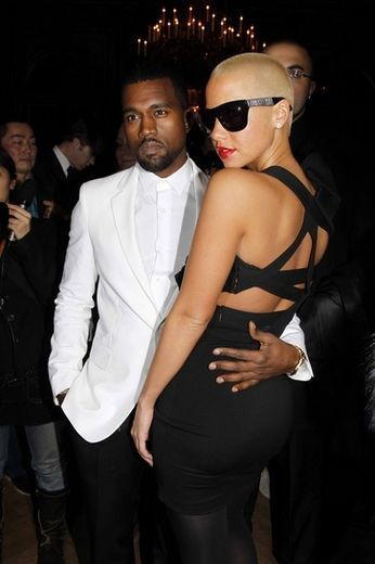 Kanye West and Amber Rose - The 31 Most Shocking Celebrity Breakups