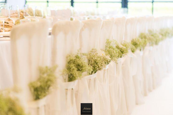 FERIATUS - Wedding - JA - White - Romantic - Chique - Tent - Celebrity - Chair - Flowers - Cloth
